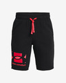 Under Armour Rival Terry Big Logo Pantaloni scurți pentru copii