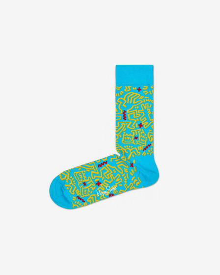 Happy Socks Keith Haring All Over Șosete