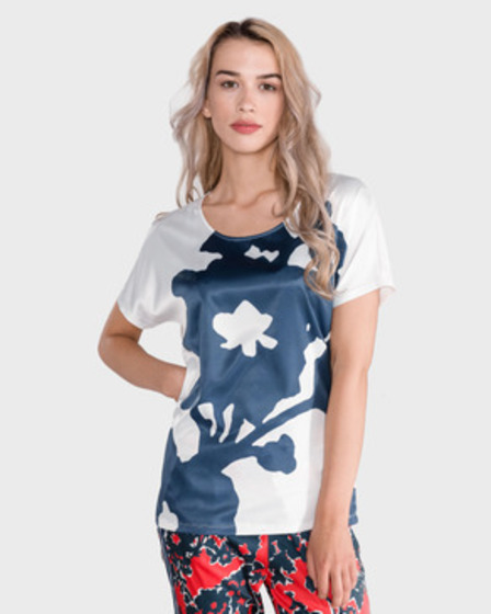 GAS Melyn Big Flower Tricou